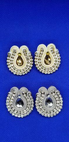 Floral, Earrings, Flowers, Jewelry, Fashion, Soutache Jewelry, Ear Studs, December, Crocheting