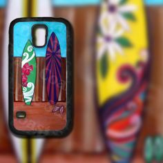 Colorful Surfboards Design 3 on Samsung Galaxy by EastCoastDyeSub