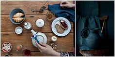 Anna Westerlund Ceramics  Photography and Styling by Sanda Vuckovic   Little Upside Down Cake