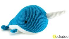 Walden the Narwhal (or Whale!) | hookabee