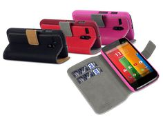 Covert UltraSlim Sideflip Case Hoesje voor Motorola Moto G