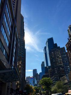 Sunny day in New York.