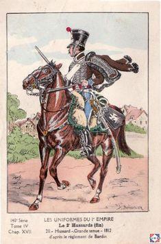 2e régiment de hussards 1812