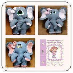 elefantes para porta pano ou predendor de cortina