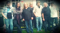 Gov't Mule with staff at Carriage House Studios