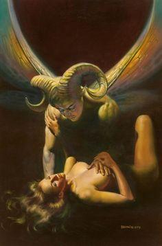 BORIS VALLEJO - The Ram - Mirage book illustration - 1982