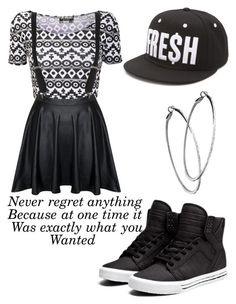 """""""Untitled #281"""" by maryanarivera ❤ liked on Polyvore featuring Neff, Supra and Mystic Light"""