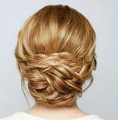 Braid chignon
