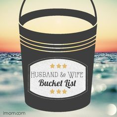 Husband and Wife Bucket List