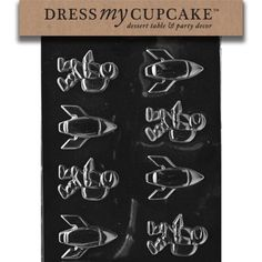 Dress My Cupcake Chocolate Candy Mold Spaceman and Rockets -- You can find out more details at the link of the image.(This is an Amazon affiliate link and I receive a commission for the sales)