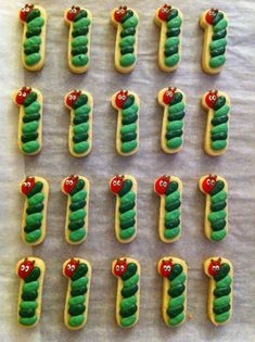 #1 Very Hungry Caterpillar Cookies