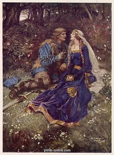 Tristan and Isolde by Norman Price