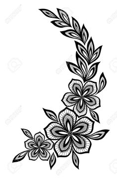 beautiful floral pattern, a design element in the old style.- beautiful floral pattern, a design element in the old style. beautiful floral pattern, a design element in the old style. Embroidery Designs, Embroidery Flowers Pattern, Vintage Embroidery, Floral Embroidery, Flower Patterns, Hand Embroidery, Textile Patterns, Machine Embroidery, Flower Tattoo Designs