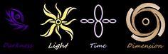 Divine Elemental Symbols by Mistress-DarkLoki on DeviantArt