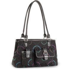 George Women's Jacquard Satchel Bag from Walmart.