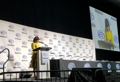 """J.Acoba on Twitter: """"Starting off the Twilight Zone presentation with Ginnifer Goodwin! #WonderCon… """""""