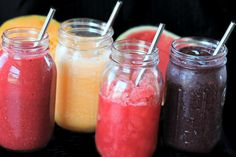 Homemade Slushies Made With Real Fruit by Coconut Mama