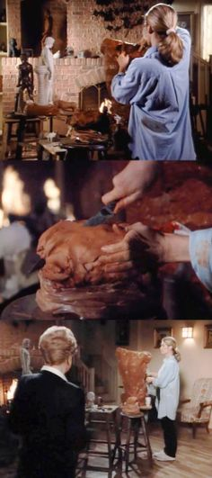 Terracotta Clay Sculpting and Pottery (from Murder, She Wrote 8, 20 Portrait of Death)