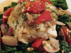Oven Roasted Chilean Sea Bass
