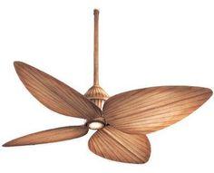 bamboo ceiling fan
