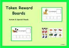 Autism & Special Needs Token Reward Boards