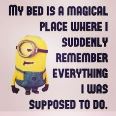 So true! #night #bed #sleepy #sleep #brainisracing #thoughts #brainoverload #overthinking #thursdaythoughts #minions #life #humour #fun #quotes #lifequotes #why #laugh #picoftheday #me