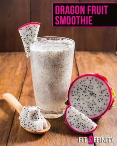 "2,098 Likes, 44 Comments - Fit Affinity (@fitaffinity) on Instagram: ""Dragon Fruit Smoothie Dragon fruit is rich in vitamin C, beta-carotene, vitamin A, fiber and…"""