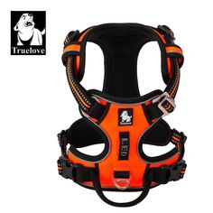 Nice Safety Reflective Dog Vest Save this photo on your board if you ❤️ it. Nylons, Ring Der O, Dog Vest, Collar And Leash, Collars, Dog Harness, Leather Harness, Large Dogs, Red And Blue