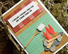 Handmade Cards for Your Little Campers