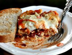 Seafood Lasagna with Cauliflower Cheese Sauce