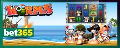 In light of our recent article about casual games becoming online slots, you can play the Worms video slot at bet365 Games and get up to £150 free when you join: http://www.casinomanual.co.uk/play-worms-slot-game-bet365-games/