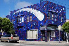 San Francisco Mural Arts   Unknown Artist   Creatures Passing Through