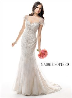 Janelle - by Maggie Sottero This is one of my fav Maggie dresses. I would love to wear this myself if I ever get married again.