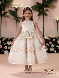 Joan Calabrese Flower Girl Dresses | Bridal Reflections