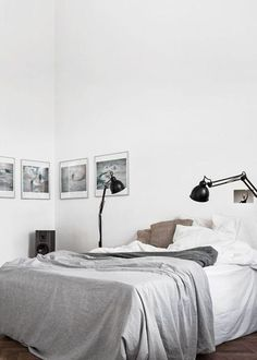 15x Scandinavische slaapkamers met linnen beddengoed - everythingelze.com
