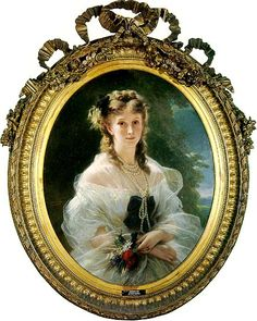 Princesse Sophie Troubetzskaya, Duchesse de Morny (1838-1896).