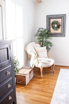 Quick and Easy Framed Shiplap | Noting Grace Modern French Country, French Country Bedrooms, French Country Cottage, Country Style, French Decor, French Country Decorating, European Bedroom, Fresh Farmhouse, Farmhouse Decor