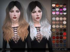 Sims 4 CC's - The Best: LeahLillith Rogue Hair