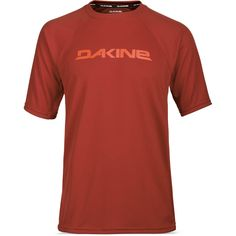 Dakine Rail Herren Bike Jersey Shortsleeve Red Rock