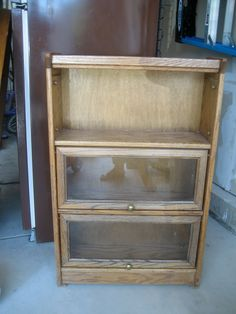 Impatiently Praying for Patience: A redone cabinet and a question