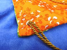 How to Make A Drawstring Backpack #kidscraft #DIY #bag