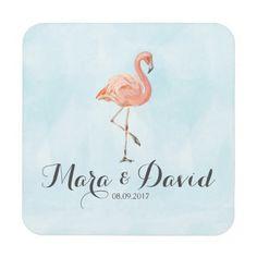 Tropical Flamingo Coaster