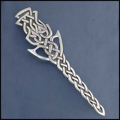 Thistle Knot Kilt Pin SW330