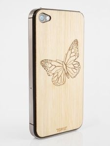 Toast iPhone Cover - Butterfly - Bamboo