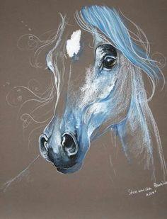 3d drawings arabian horses horse paintings pretty horses equine art horse art art school creative art art techniques