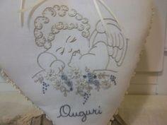 Lavanda e Lillà Embroidery, Pattern, Angels, Ideas, Throw Pillows, Lavender, Blinds, Hipster Stuff, Bebe