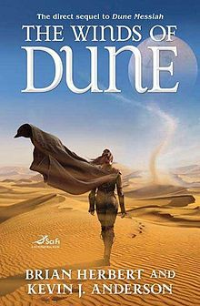 The Winds of Dune  First edition cover The Winds of Dune is a science fiction novel written by Brian Herbert and Kevin J. Anderson, set in the Dune universe created by Frank Herbert. Released on August 4, 2009, it is the second book in the Heroes of Dune series and chronicles events between Frank Herbert's Dune Messiah (1969) and Children of Dune (1976). Before publication, the novel's title was initially announced as Jessica of Dune.