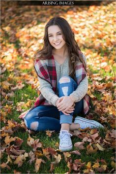 Senior Portrait / Photo / Picture Idea - Girls - Fall | Reality Refinement