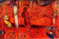 Marc Chagall, Daphnes and Chloe