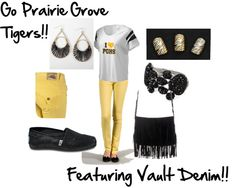 """""""Prairie Grove Tigers"""" by trinagreat on Polyvore"""